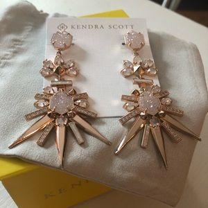 🎀NEW🎀Kendra Scott Rose Gold Starburst Earrings